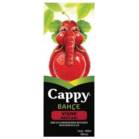 Cappy Meyve Nektarı Vişne 200 Ml