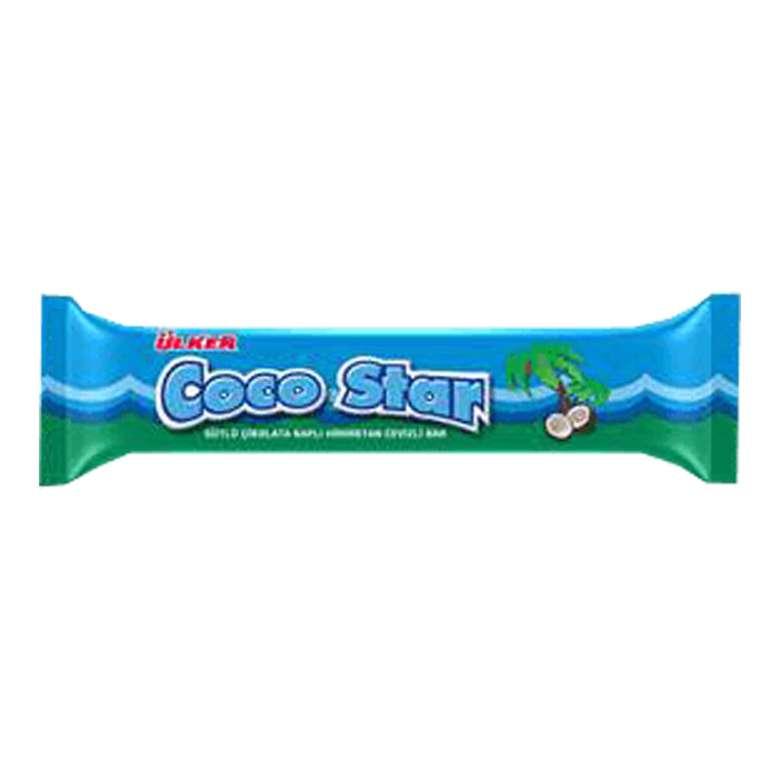 Ülker Coco Star Bar Çikolata Hindistan Cevizli 28 G