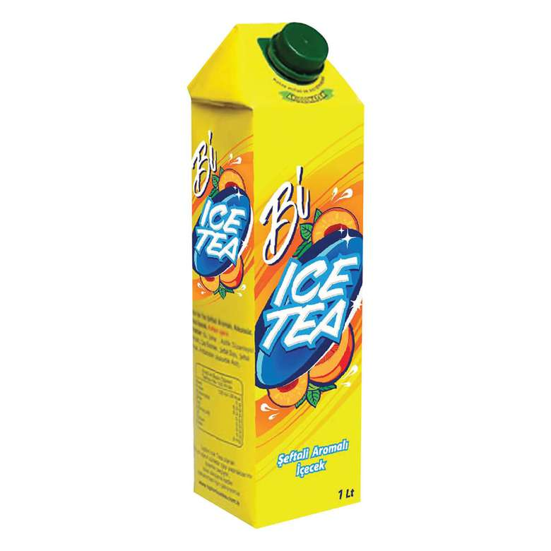 Bi Ice Tea Buzlu Çay Şeftali 1 L