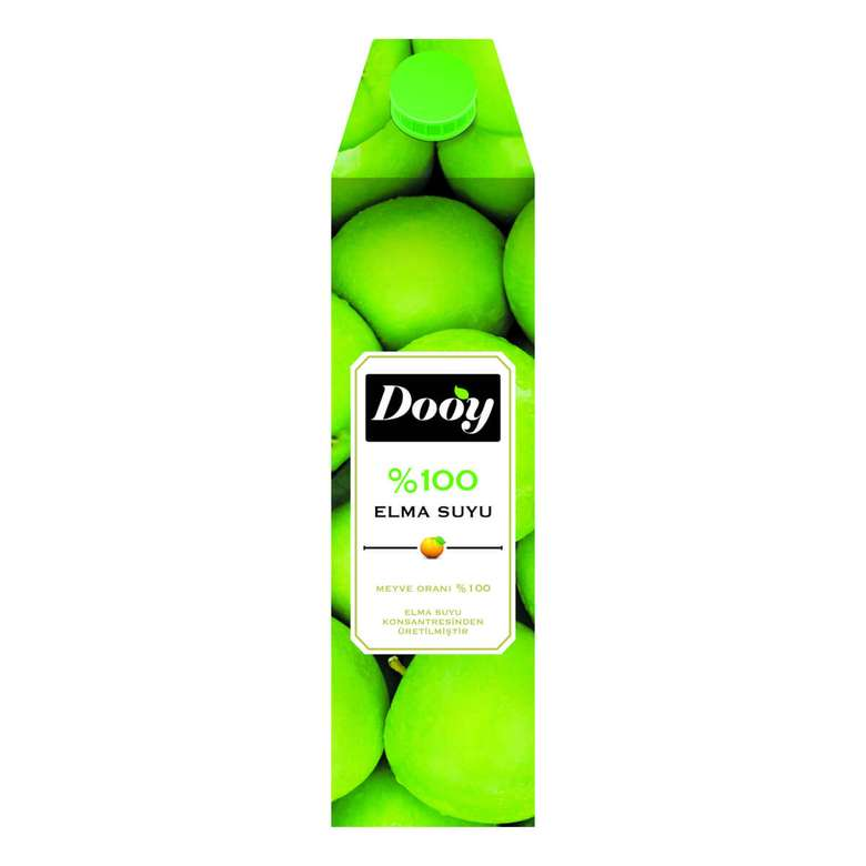Dooy Meyve Suyu %100 Elma 1 L