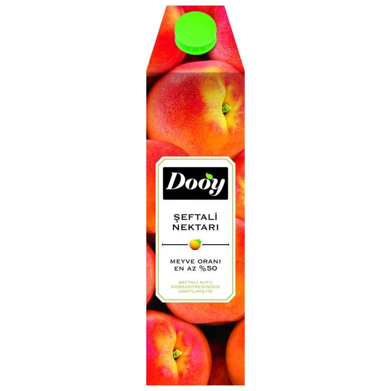 Dooy Meyve Nektarı Şeftali 1 L