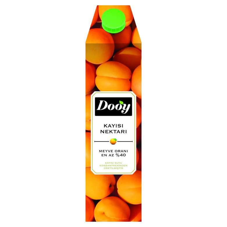 Dooy Meyve Nektarı Kayısı 1 L