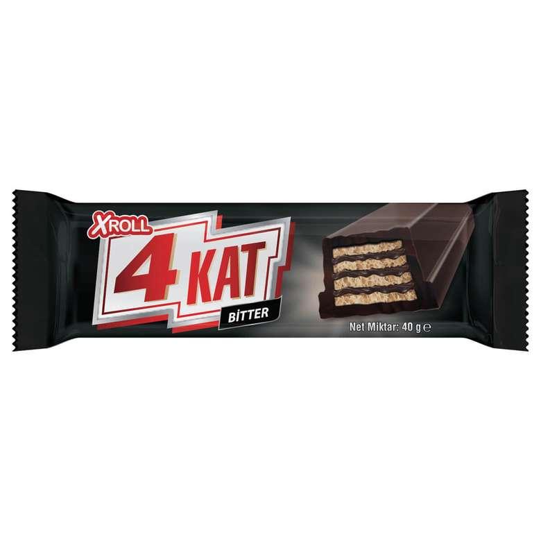 Xroll 4 kat Gofret Bitter Çikolata 40 G