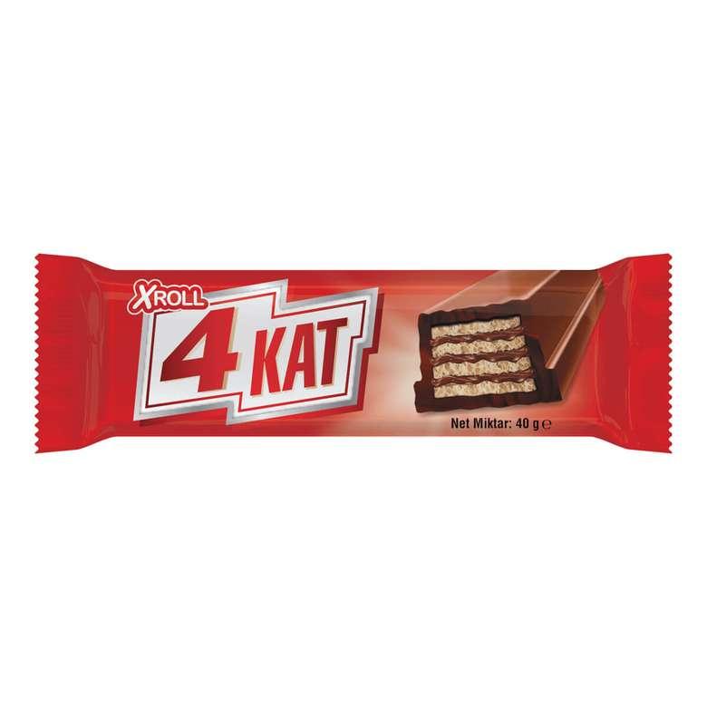Xroll 4 kat Gofret Sütlü Çikolata 40 G