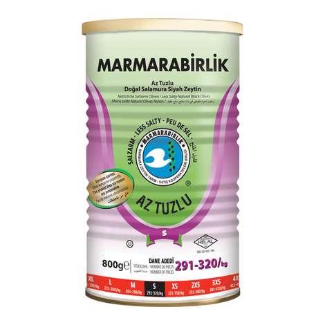 Marmarabirlik Siyah Zeytin Az Tuzlu S Kal. 800 G