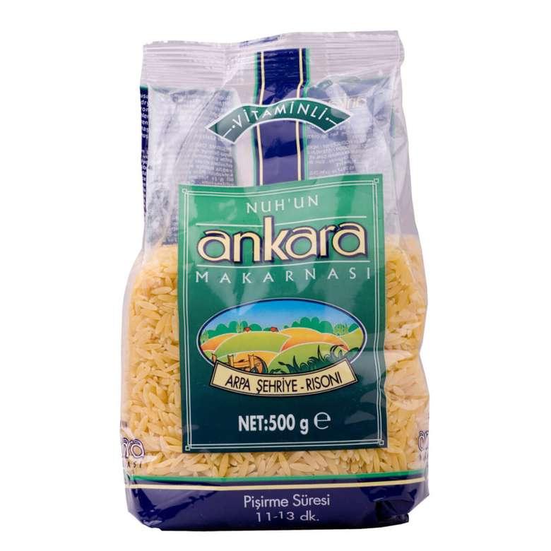 Nuh'un Ankara Vitaminli Arpa Şehriye Makarna  500 G