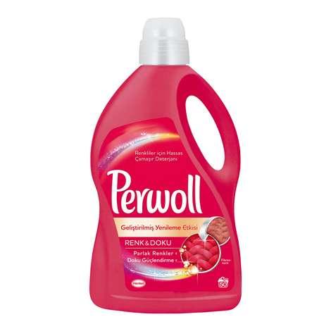 Perwoll Sıvı Deterjan Renkli 3 L