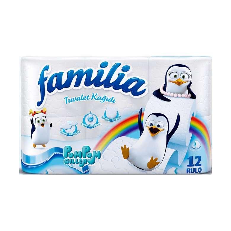 Familia Tuvalet Kağıdı Çift Katlı 12'li