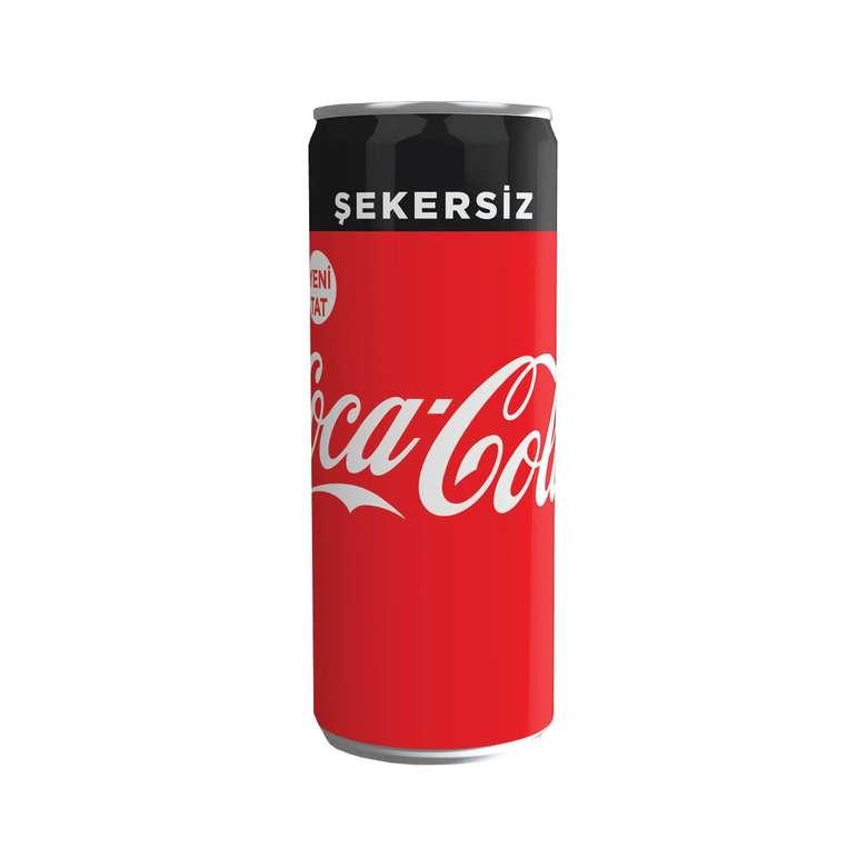 Coca Cola Şekersiz Gazlı İçecek 330 Ml