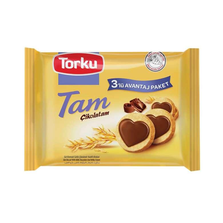Torku Tam Çikolatam Bisküvi Kremalı 249 G