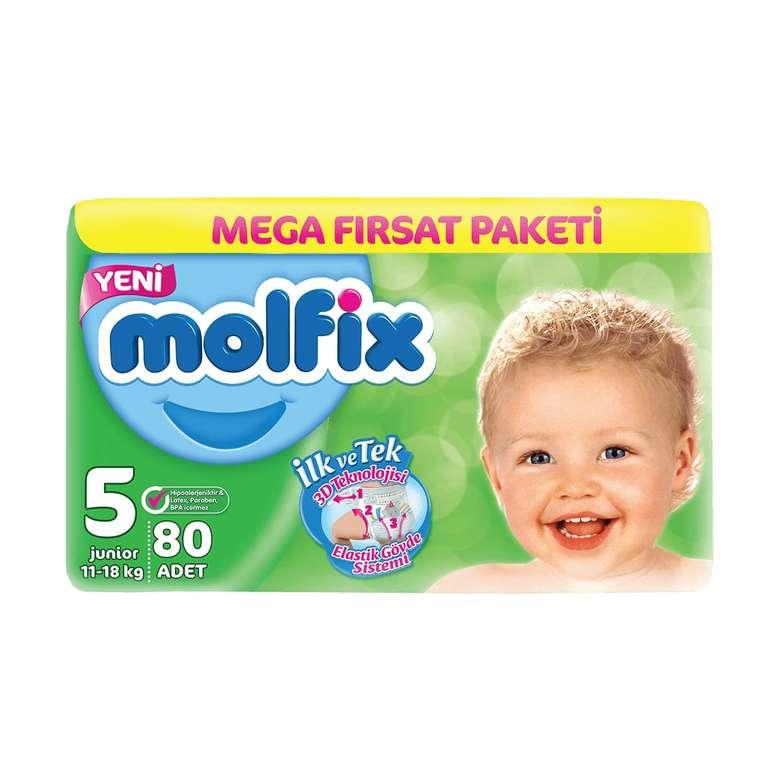 Molfix 5 Numara  Junior 80'li Bebek Bezi