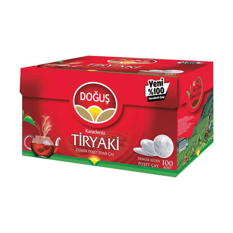 Doğuş Çay Demlik Poşet Tiryaki 100 * 320 G
