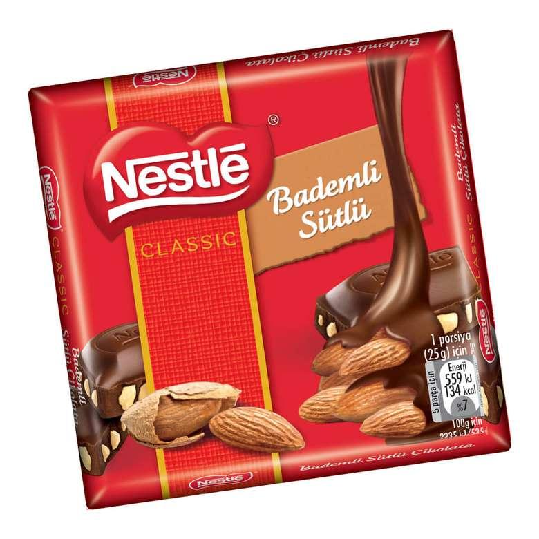 Nestle Çikolata Sütlü Badem 65 G