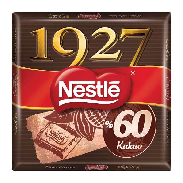 Nestle 1927 Çikolata %60 Bitter 65 G