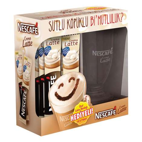 Nescafe Latte Mug. Hediyeli 16'lı