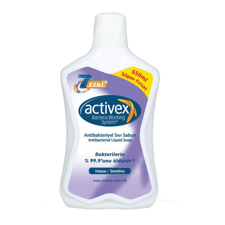 Activex Sıvı Sabun 650 Ml