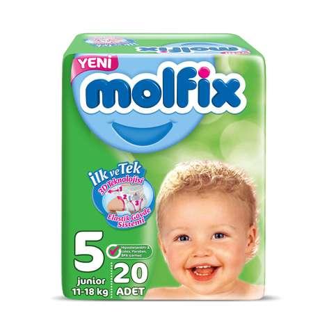 Molfix 5 Numara Junior 20'li Bebek Bezi