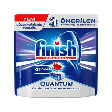 Finish Quantum Bulaşık Makinesi Tableti 30'lu