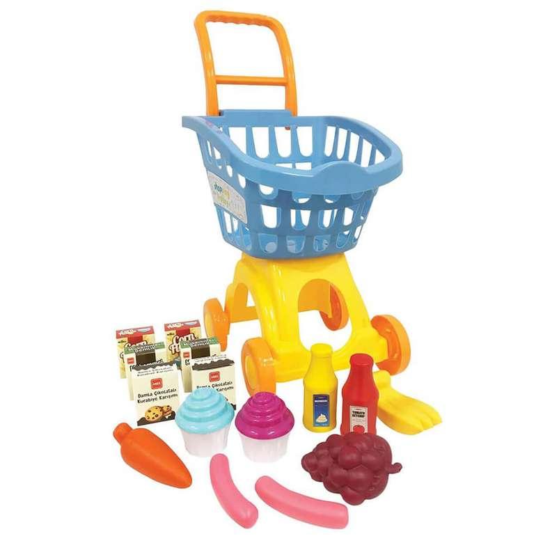 Oyuncak Alışveriş Arabası