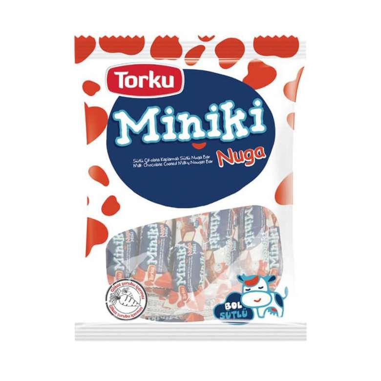 Torku Miniki Bar Çik. Sütlü Nugalı 240 G