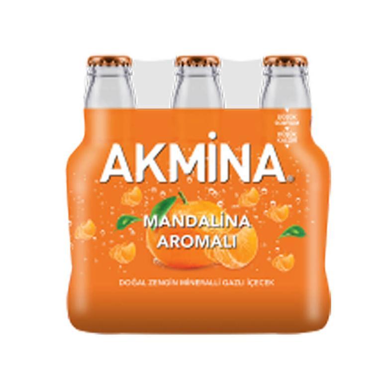 Akmina Maden Suyu Mandalina 6x200 Ml