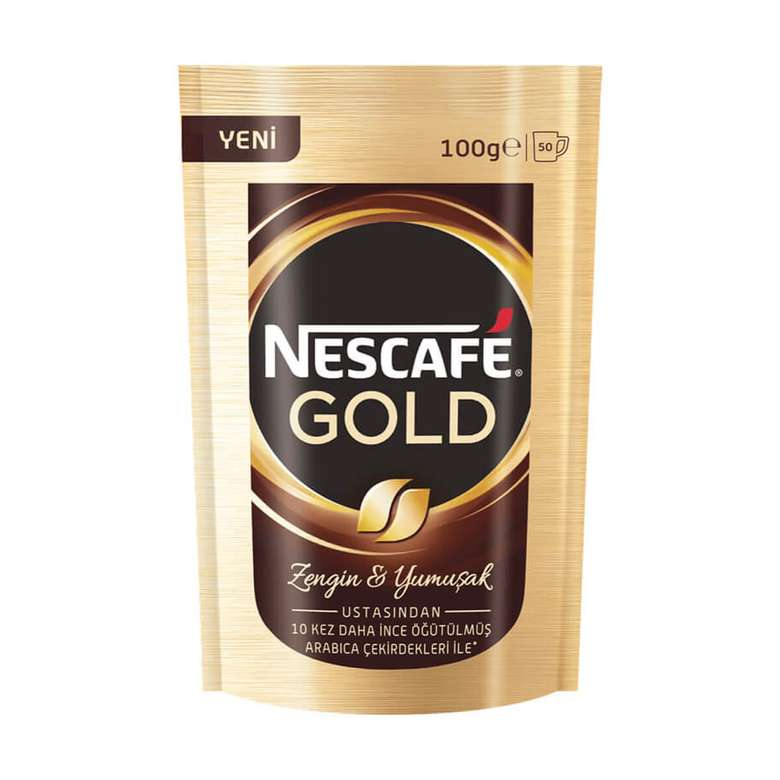 Nescafe Kahve Gold Eko Paket 100 G