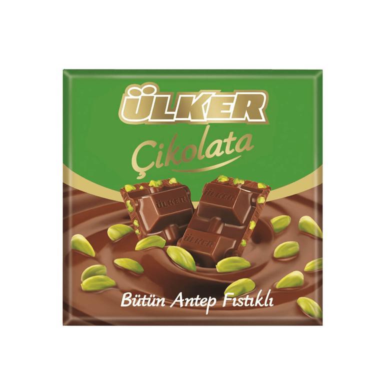 Ülker Çikolata Antep Fıstıklı 70 G