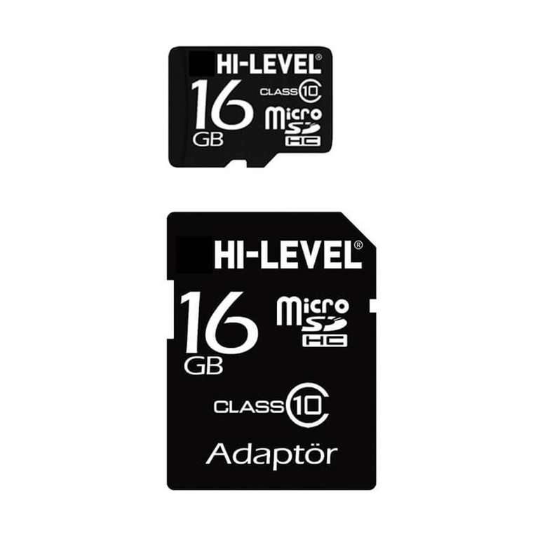 Hi Level 16 GB Micro Sd Kart - A101