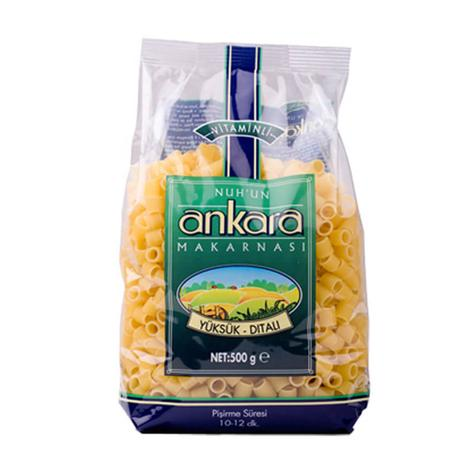 Nuh'un Ankara Vitaminli Yüksük Makarna  500 G