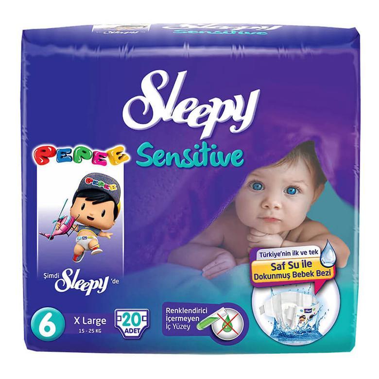 Sleepy Çocuk Bezi Extra Large 20'li
