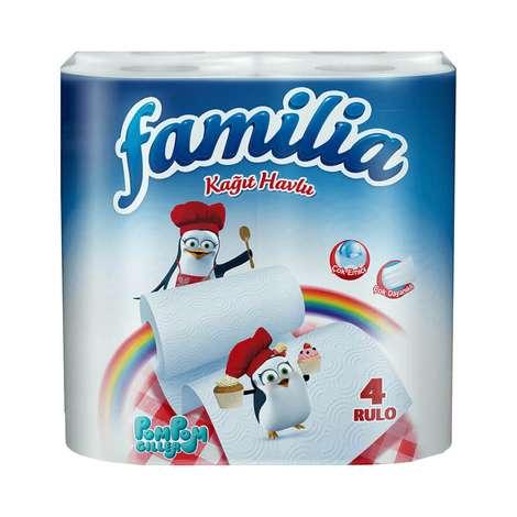 Familia Kağıt Havlu Çift Katlı 4'lü