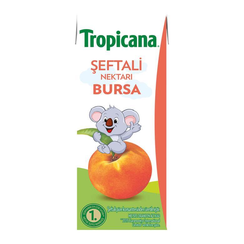 Tropicana Meyve Nektarı Şeftali 200 Ml