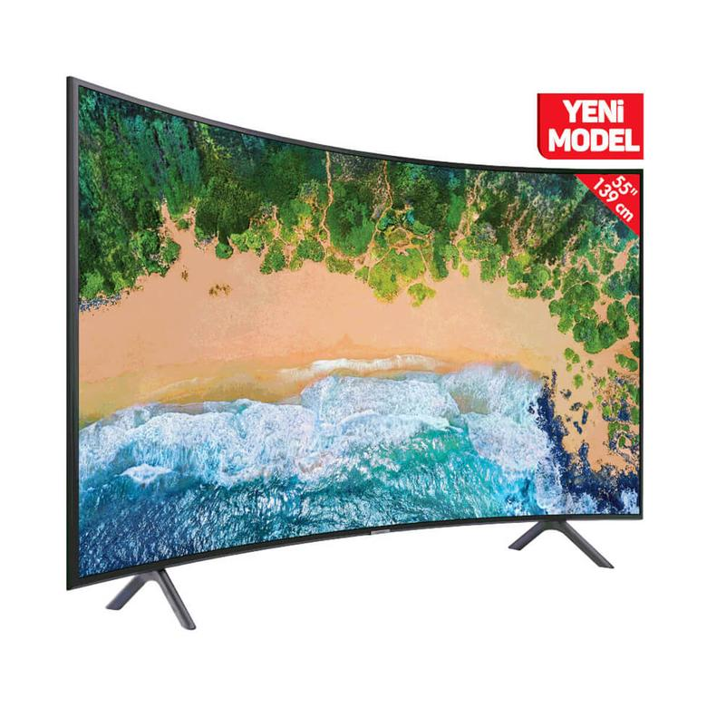 "Samsung 55NU7300 55"" UHD Curved TV"