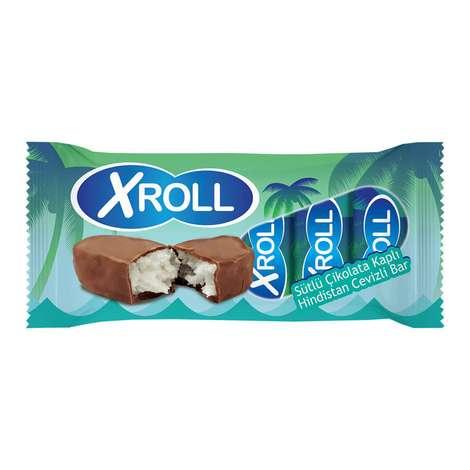 Xroll Bar Çikolatalı Hindistan Cevizli 5*25 G