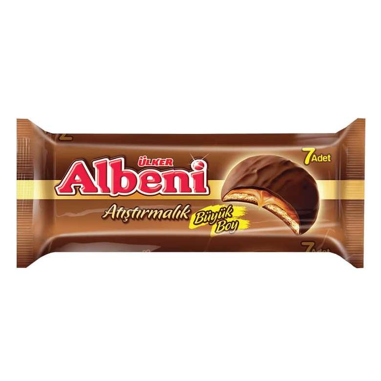 Ülker Albeni Bar Çikolata Karamelli San. 252 G