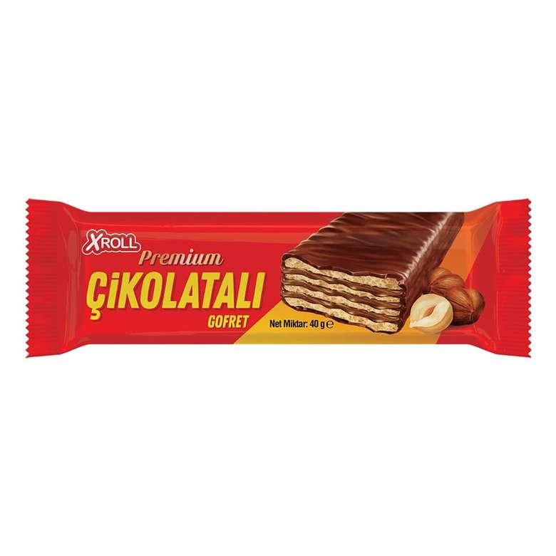 Xroll Sütlü Çikolatalı Gofret 40g