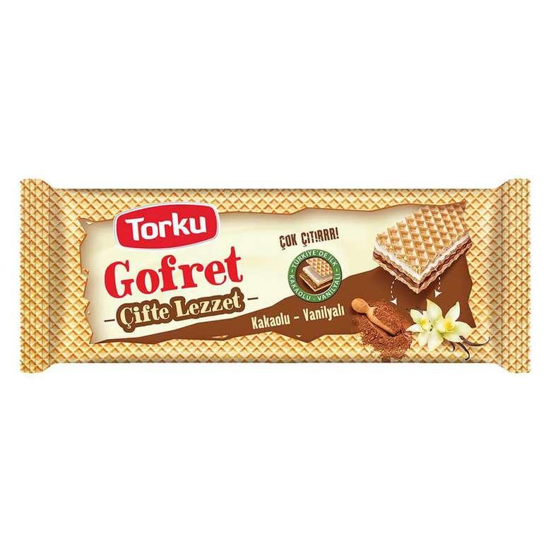 Torku Gofret Kakaolu Vanilyalı 142 G