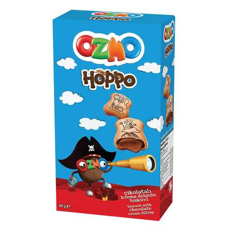 Ozmo Hoppo Bisküvi Çikolatalı 40 G