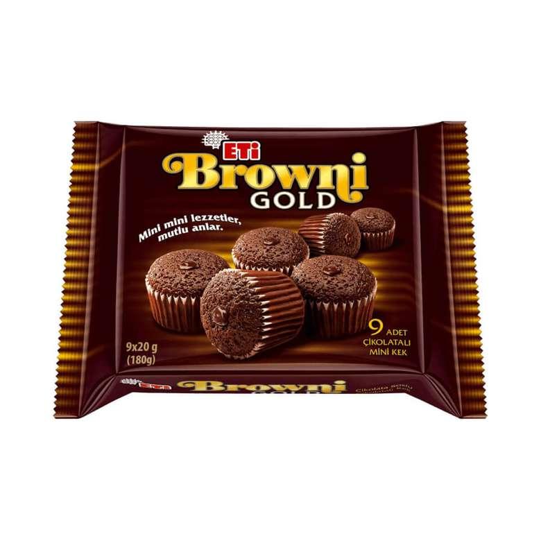 Eti Browni Kek Kakaolu Çikolata Soslu 9x20 G