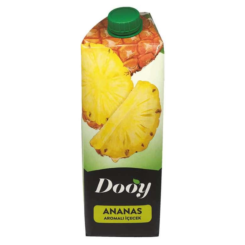 Dooy Meyve Aromalı İçecek Ananas 1000 Ml