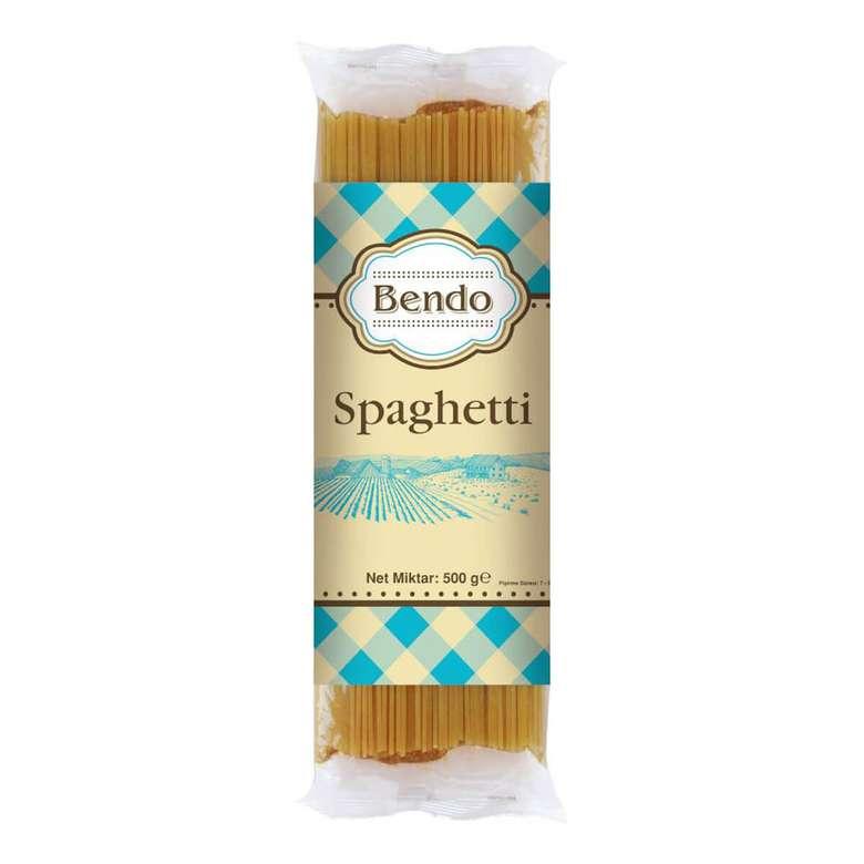 Bendo Spagetti Makarna 500 G