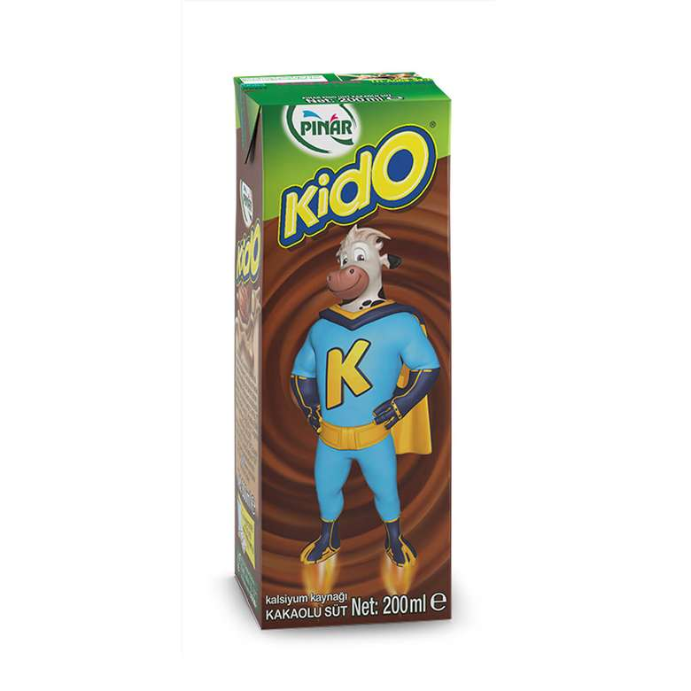 Pınar Kido Süt Kakaolu 200 Ml