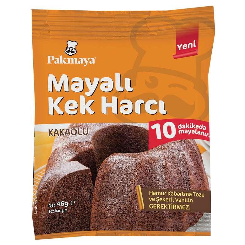 Pakmaya Mayalı Kek Harcı Kakaolu 46 G