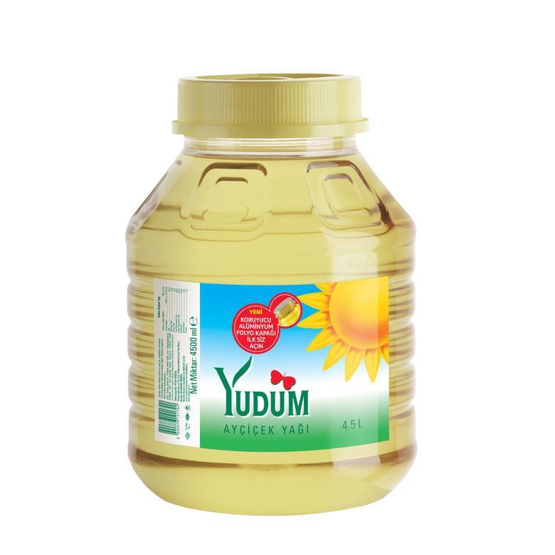 Yudum Ayçiçek Yağı 4,5 L