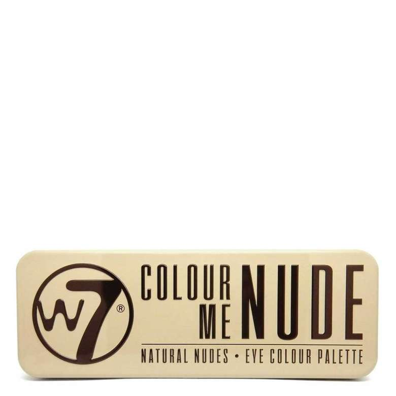 W7 Color Me Nude Far Paleti