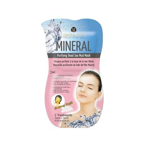 Skinlite Arındırılmış Ölü Deniz Çamuru Kağıt Yüz Maskesi