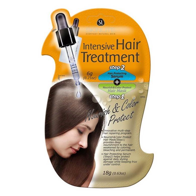 Skinlite Renk Canlandırıcı Saç Serumu + Saç Maskesi