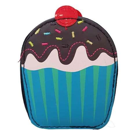 Beauty House Mavi Cupcake Desenli Manikür Seti