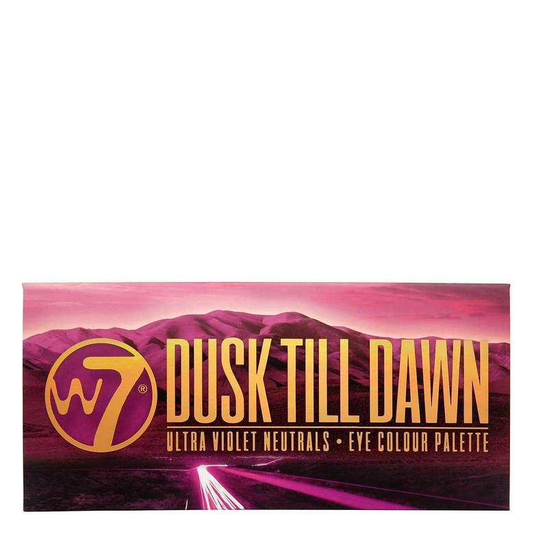 W7 Dusk Till Dawn Far Paleti