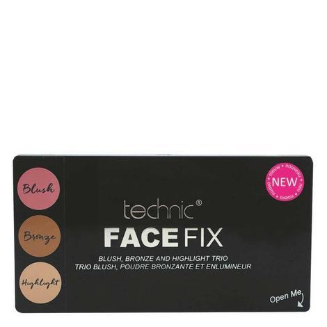 Technic Face Fix Allık&Aydınlatıcı&Bronzlaştırıcı Set